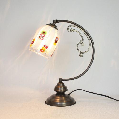 dd10ay-dm133s ベネチアングラスランプ 照明 テーブルランプ 卓上ランプ イタリア製
