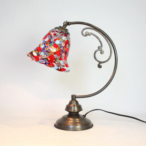 dd10ay-murrine-mu ベネチアングラスランプ 照明 テーブルランプ 卓上ランプ イタリア製