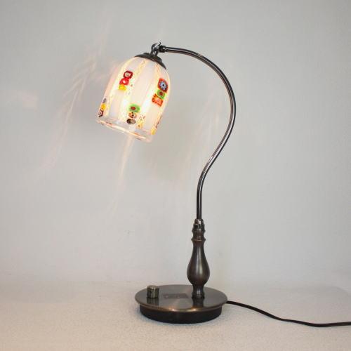 fc-570ay-dm133s ベネチアングラスランプ 照明 テーブルランプ 卓上ランプ イタリア製