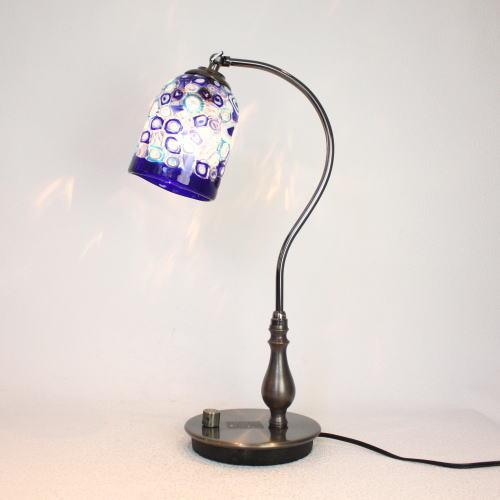 fc-570ay-dm25-s ベネチアングラスランプ 照明 テーブルランプ 卓上ランプ イタリア製