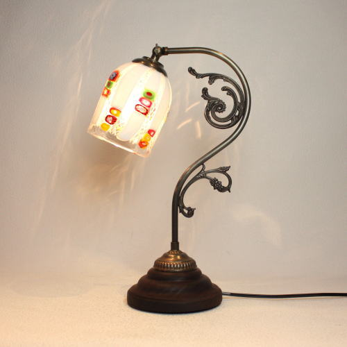 fc-600a-dm133s ベネチアングラスランプ 照明 テーブルランプ 卓上ランプ イタリア製