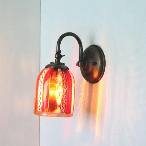 ブラケットライト 壁掛け照明 ブラケットランプ fc-w004-dm42or