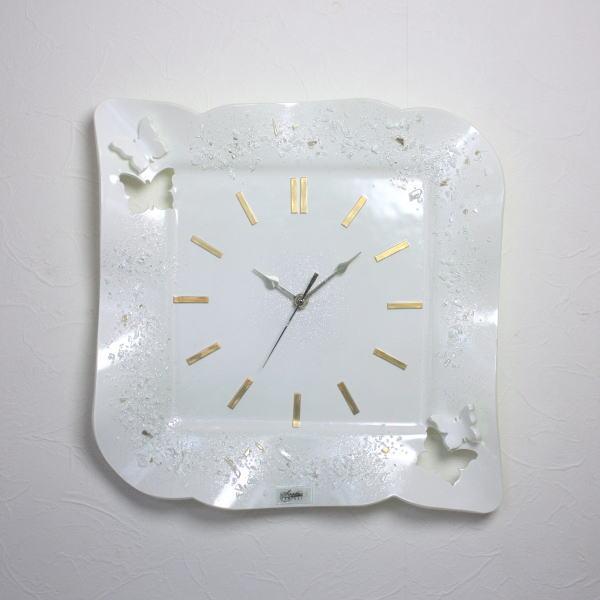 掛け時計 掛時計ベネチアングラス ベネチアンガラス イタリア製 インテリア お祝い 結婚祝い ギフト おしゃれ ヴェネチアンガラス