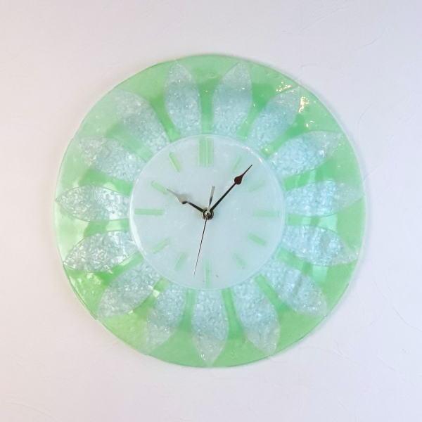 掛け時計 ベネチアングラス ベネチアンガラス 掛時計 おしゃれ お祝い ヴェネチアンガラス