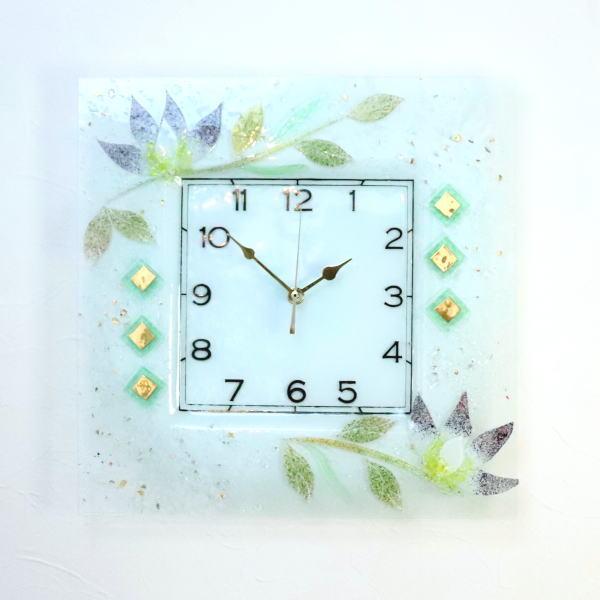 pelt06-66-q ベネチアングラス掛け時計 ベネチアンガラス イタリア製 インテリア お祝い 結婚祝い ギフト おしゃれかわいい ヴェネチアンガラス