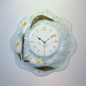 掛け時計 掛時計 ベネチアングラス ベネチアンガラス おしゃれ かわいい ヴェネチアンガラス