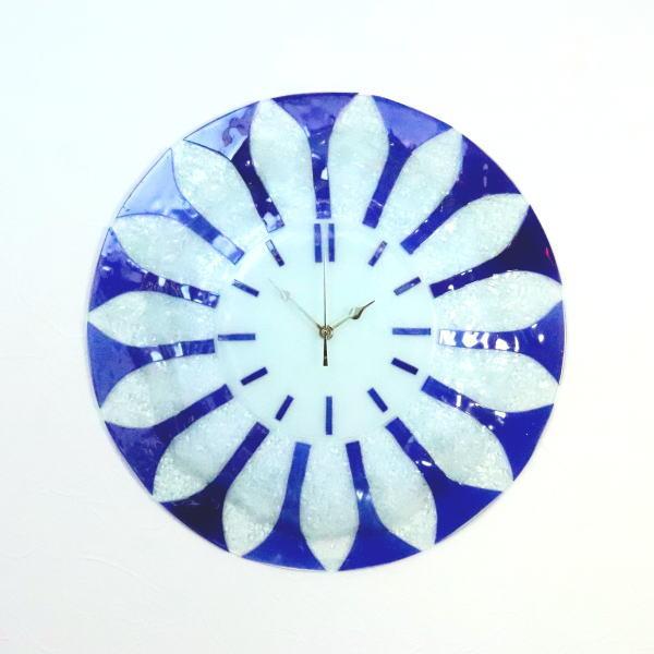 ベネチアングラス ベネチアンガラス 掛け時計 掛時計 おしゃれ お祝い ヴェネチアンガラス