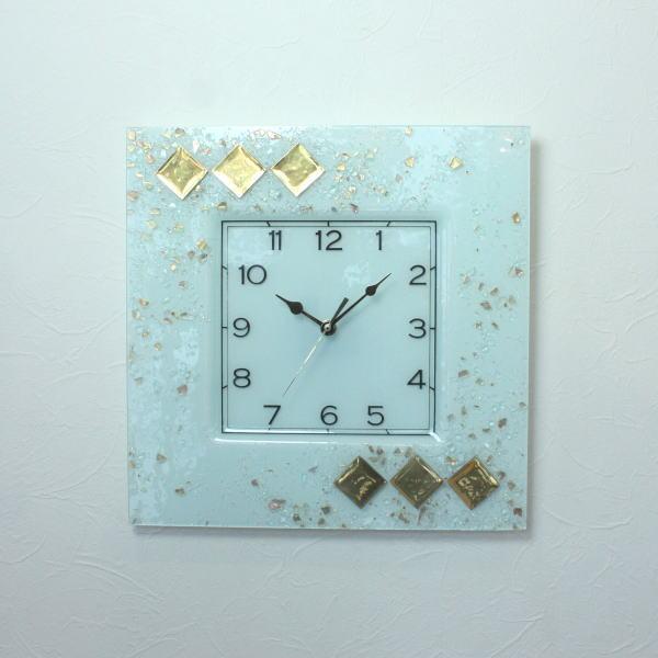 ベネチアングラス ベネチアンガラス 掛け時計 掛時計 おしゃれ かわいい