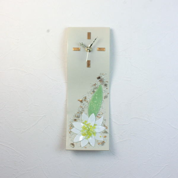 掛け時計 掛時計 おしゃれ ベネチアングラス ベネチアンガラス お祝い ヴェネチアンガラス pelt14-92wall