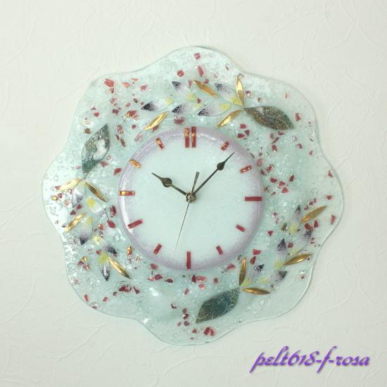 掛け時計 掛時計 ベネチアングラスベネチアンガラス イタリア製 インテリア お祝い 結婚祝い ギフト おしゃれ ヴェネチアンガラス