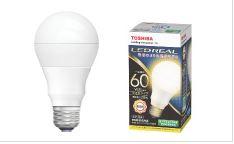 東芝 LDA8L-G/60W  60個入/1箱  電球色E26口金 LED電球 全方向タイプ配光角260度一般電球60W形相当[LDA8LG60W]