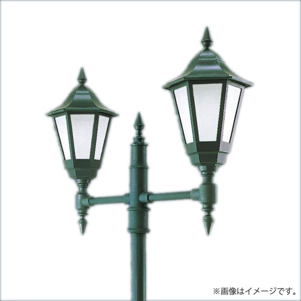 PanasonicのLED街路灯 LED街路灯 モールライト 温白色 XY7611KLE9 お求めやすく価格改定 XY7611K NNY22631K パナソニック LE9×2+YD889K 全国一律送料無料 LE9