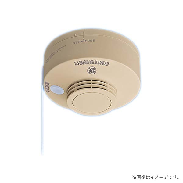 SHK28417Y パナソニック けむり当番2種露出型(AC100V端子式・連動親器)警報音・音声警報機能付 和室色