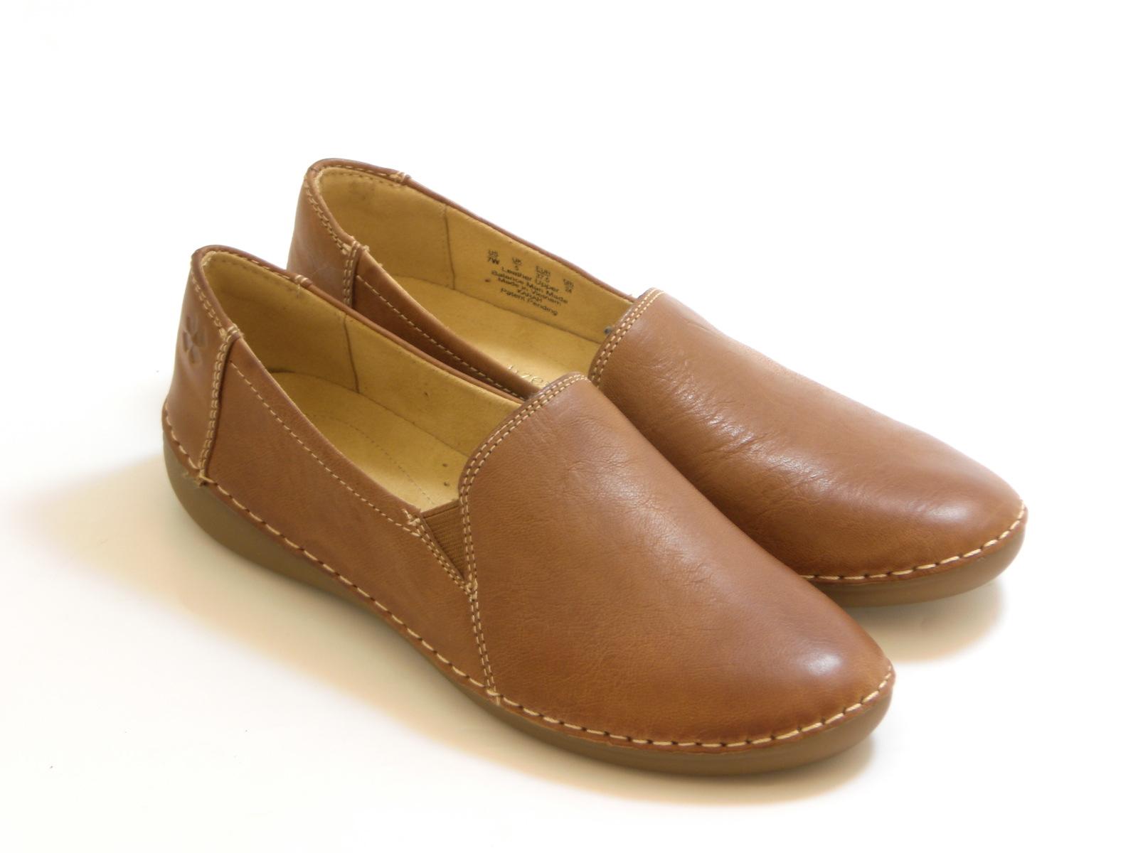 送料無料 沖縄 離島は1100円かかります nauralizer ナチュラライザーラウンドトゥ ブラウン レディース☆ サイドゴアカジュアルシューズ シューズ お気にいる 至上 ☆靴