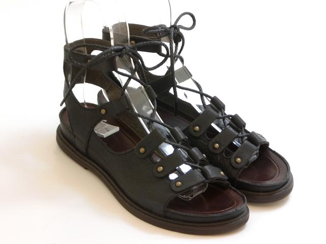送料無料 沖縄 離島は1100円かかります 20% OFF SALESAYA サヤレースアップ カジュアルサンダル ブラック シューズ キャンセル不可 靴 レディース 交換 大放出セール 早割クーポン セール品につき返品