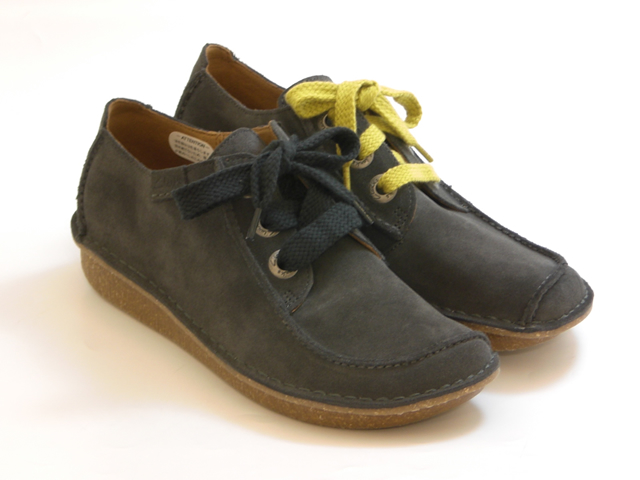 077e35b30ca 20% OFF SALE Clarks FUNNY DREAM Fannie Dream (gray suede) women s shoes No  return