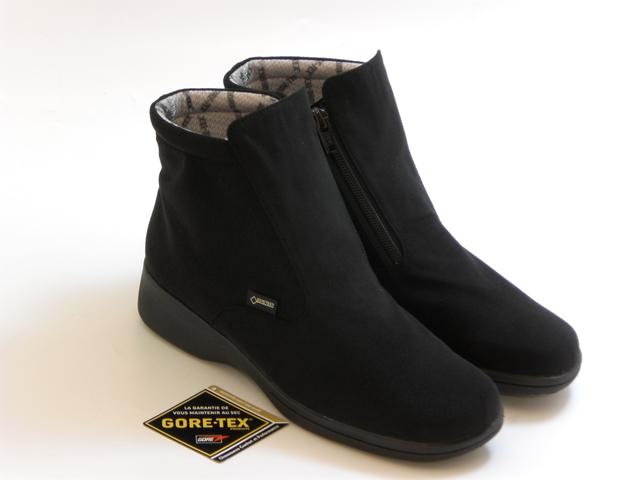 LIBERTY HOUSE リバティー ハウスGORE-TEX 防水タイプ ショートブーツ(ブラック) レディース シューズ 靴