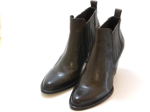 ≪20% OFF SALE≫[RABOKIGOSHI works]ラボキゴシ ワークスヴィンテージ仕上げ サイドゴアショートブーツ(キャメル)レディース シューズ 靴セール品につき返品・交換・キャンセル不可
