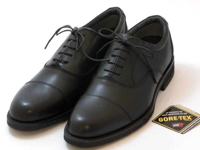 REGAL Men's リーガル メンズGORE-TEX  ストレートチップ(ブラック)メンズ シューズ 靴