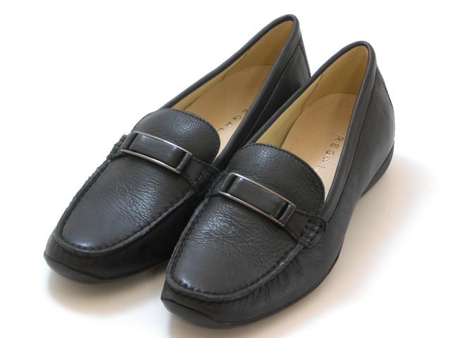 送料無料 沖縄 離島は1100円かかります REGAL リーガルソフトレザー ブラック レディース 靴 スーパーセール シューズ おすすめ特集 ビットシューズ