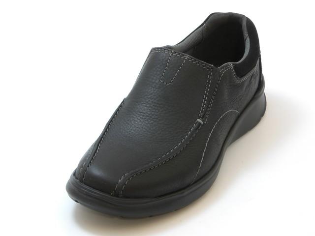 ≪20% OFF SALE≫Clarks Men's クラークスCotell Step  コントレルステップ(ブラック)メンズ シューズ 靴セール品につき返品・交換・キャンセル不可