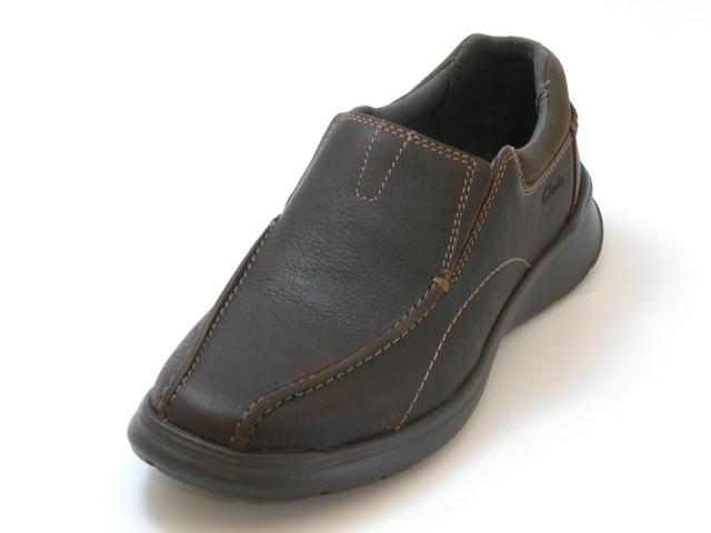 ≪20% OFF SALE≫Clarks Men's クラークスCotell Step  コントレルステップ(ブラウン)メンズ シューズ 靴セール品につき返品・交換・キャンセル不可