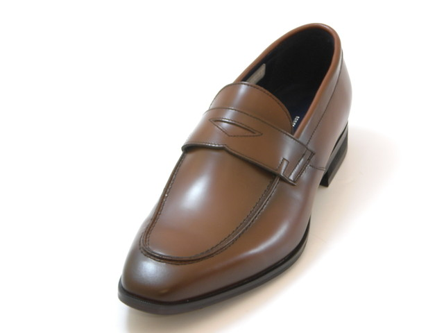 KENFORD Men's ケンフォード メンズスクエアトゥ ローファー(ブラウン)メンズ シューズ 靴