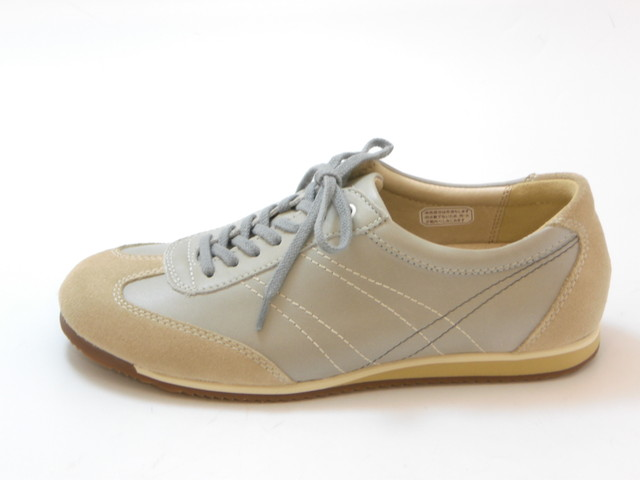 ≪30% OFF SALE≫REGAL リーガルレースアップ レザースニーカー(グレー)レディース シューズ 靴セール品につき返品・交換・キャンセル不可