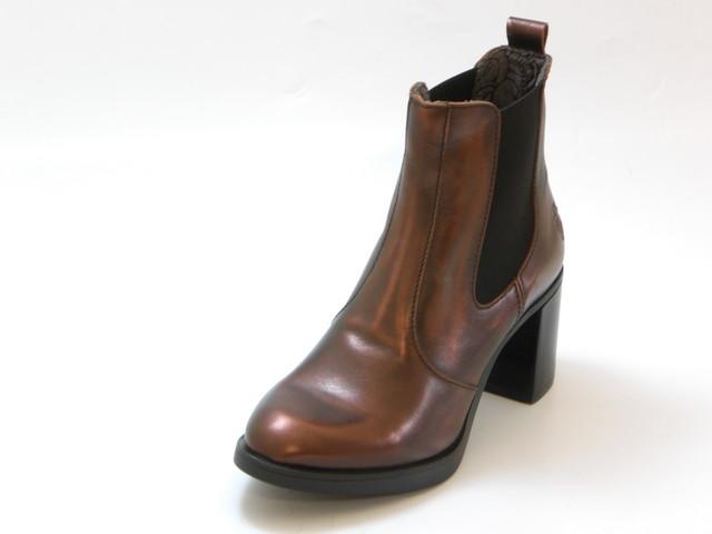 FLY LONDON フライロンドンSEHO サイドゴア ヒールブーツ(コッパ―)レディース シューズ 靴セール品につき返品・交換・キャンセル不可