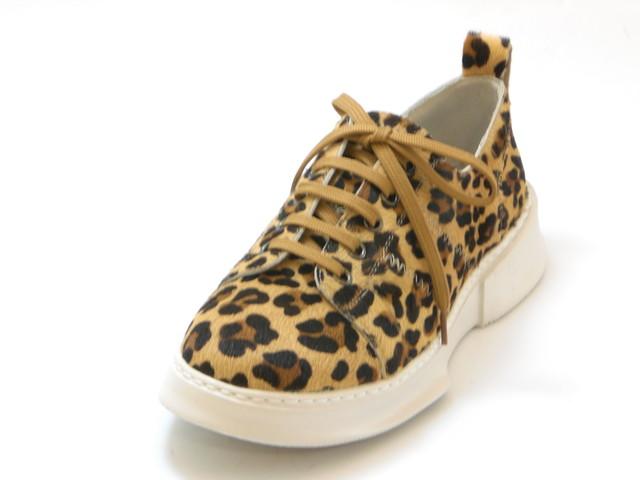 KISCO キスコ【軽量】ソフトレザースニーカー(ヒョウ)レディース シューズ 靴セール品につき返品・交換・キャンセル不可