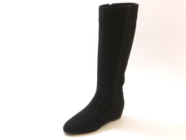 ≪30% OFF SALE≫REGAL リーガルインヒール  スエードロングブーツ(ブラック)レディース シューズ 靴セール品につき返品・交換・キャンセル不可