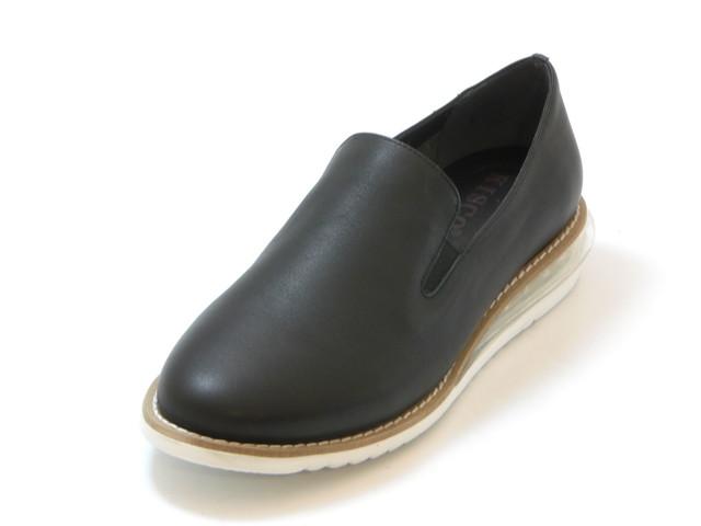 送料無料 沖縄 離島は1100円かかります ≪30% OFF SALE≫KISCO キスコエアヒール 人気ブランド多数対象 レディース 配送員設置送料無料 スリッポンシューズ ブラック 交換 キャンセル不可 靴セール品につき返品 シューズ