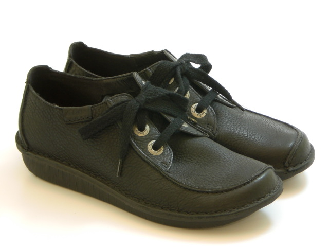 La Muse Clarks Funny Dream Fannie Dream Black Womens Shoes