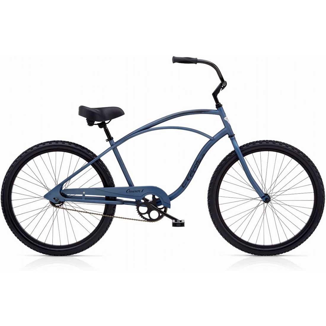 ビーチクルーザー 26インチ おしゃれ 自転車 通勤 通学 エレクトラ CRUISER-1 ミッドナイトブルー メンズ レディース