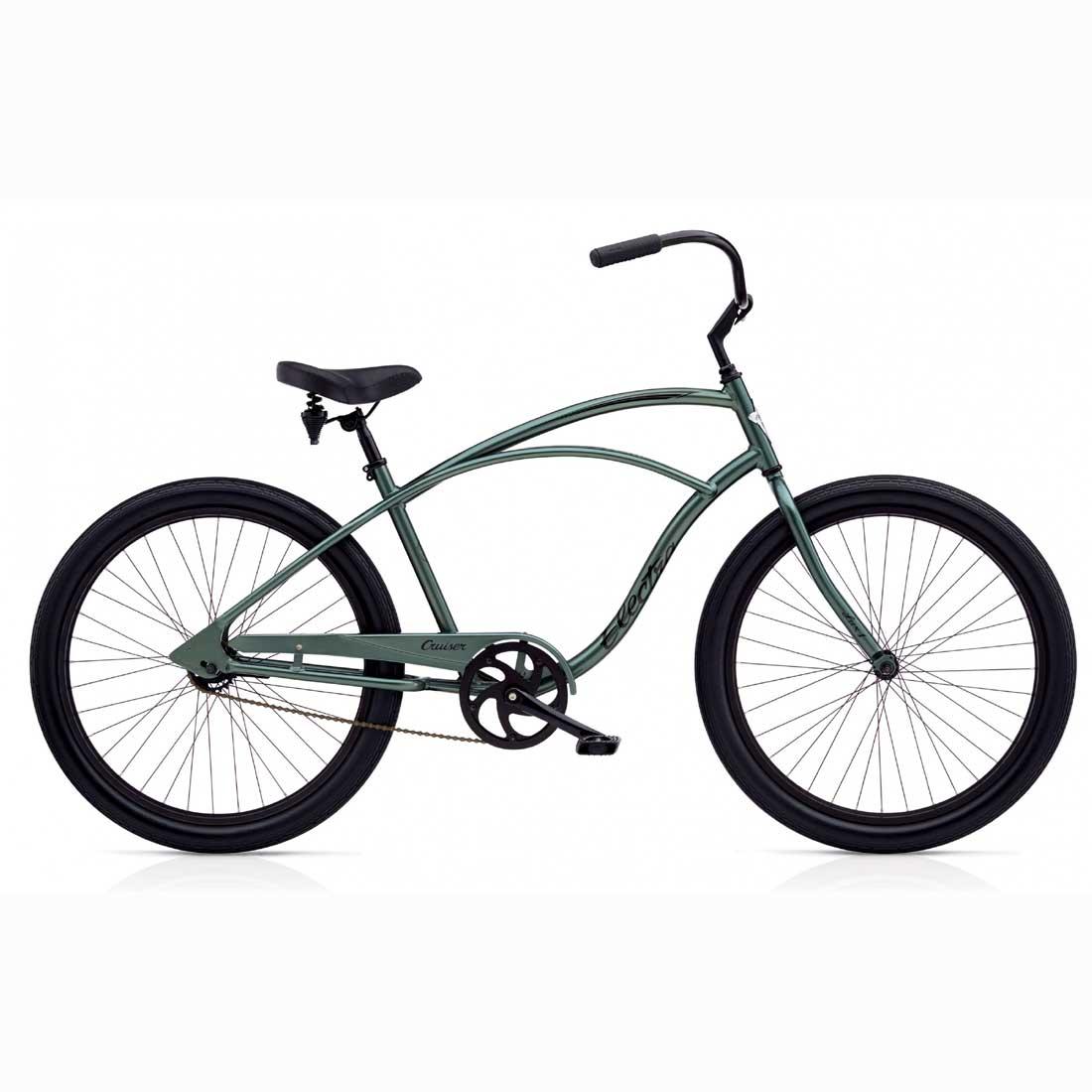 ビーチクルーザー 26インチ アルミフレーム 軽量 おしゃれ 自転車 通勤 通学 エレクトラ CRUISER-LUX1 アンスラサイト メンズ レディース