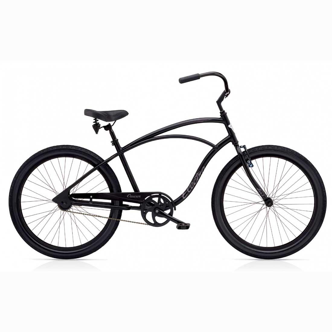 エレクトラ ビーチクルーザー 26インチ レインボー おしゃれ 自転車 通勤 通学 メンズ レディース アルミフレーム 軽量 CRUISER-LUX1 マットブラック