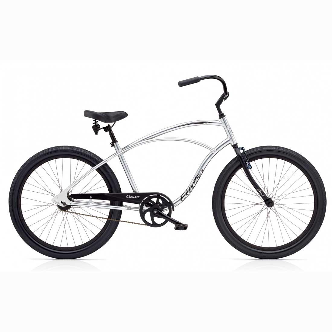 ビーチクルーザー 26インチ アルミフレーム 軽量 おしゃれ 自転車 通勤 通学 エレクトラ CRUISER-LUX1 ポリッシュ メンズ レディース