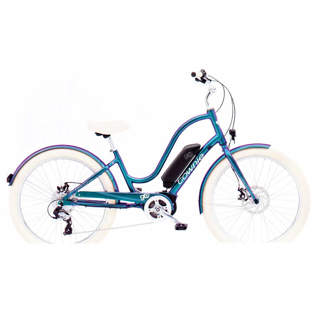 自転車 電動アシスト Eバイク 送料無料 限定 変速付 ビーチクルーザー 26インチ シティサイクル 通勤 通学 店長 おすすめ 電動自転車 エレクトラ TOWNIE-GO-8D メンズ レディース