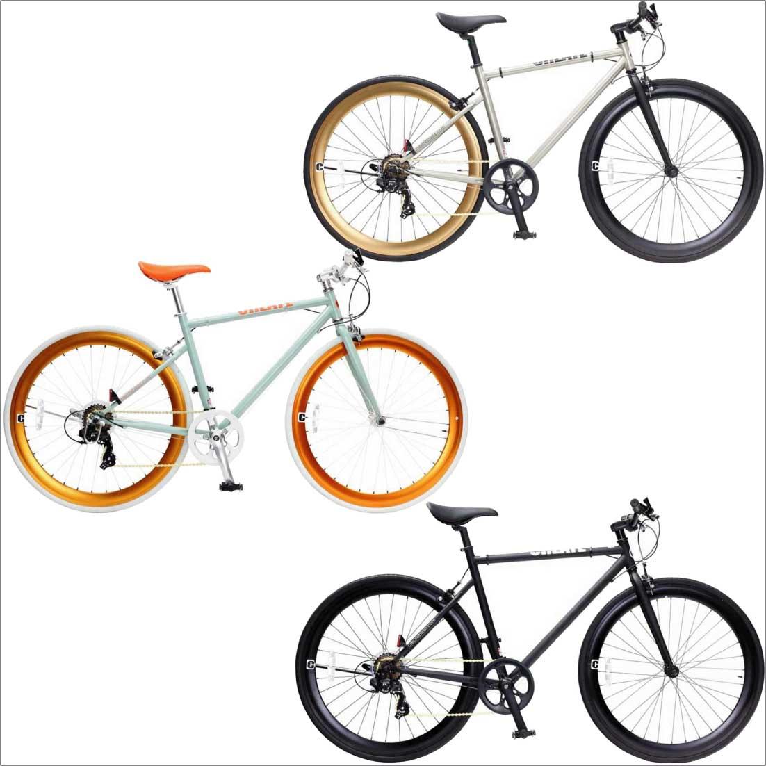 クロスバイク 700C 7段変速 ディープリム クロスバイク ロードバイク おしゃれ 自転車 通勤 通学 CREATE C-310 メンズ レディース