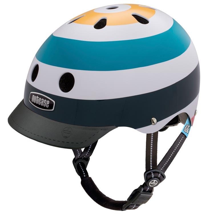 【ジュニア用ヘルメット】NUTCASE LITTLE NUTTYDesign:RADIO-WAVE安全でデザインも豊富、どうせならカッコいい方がいい!!