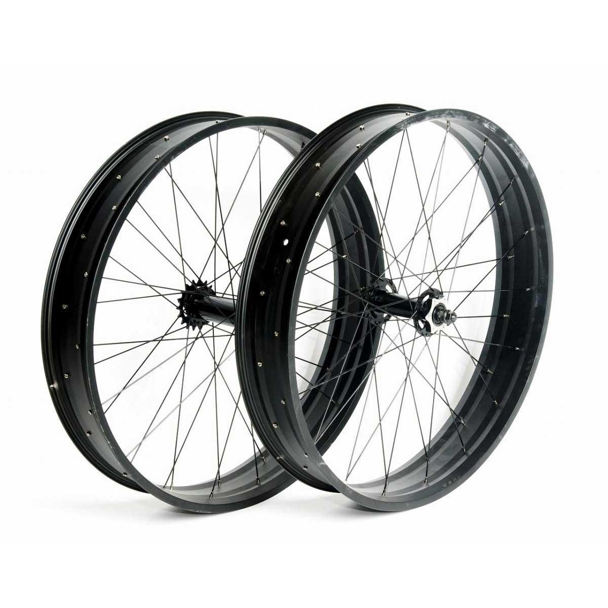 【自転車用ホイール】BRONX FAT-WHEEL 26*4.0用
