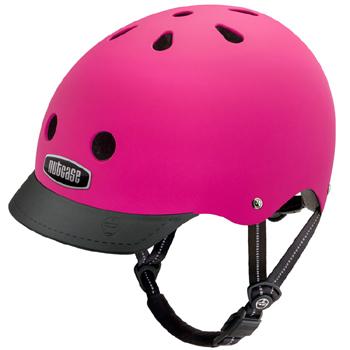 【ヘルメット】NUTCASE GEN-3デザイン:Fuchsiaサイズ:S(約52~56cm)M(約56~60cm(男性向け)) 安全でデザインも豊富、どうせならカッコいい方がいい!!