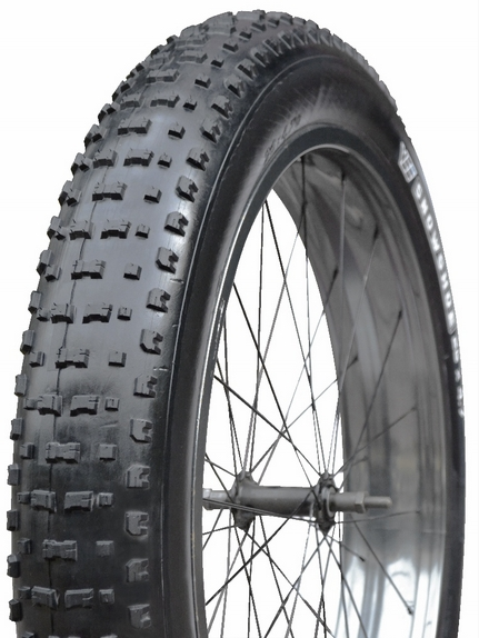【VEE RUBBER ファットタイヤ】VEE SNOWSHOE KEVLAR 26×4.7自転車 ファットバイク 26インチ タイヤ