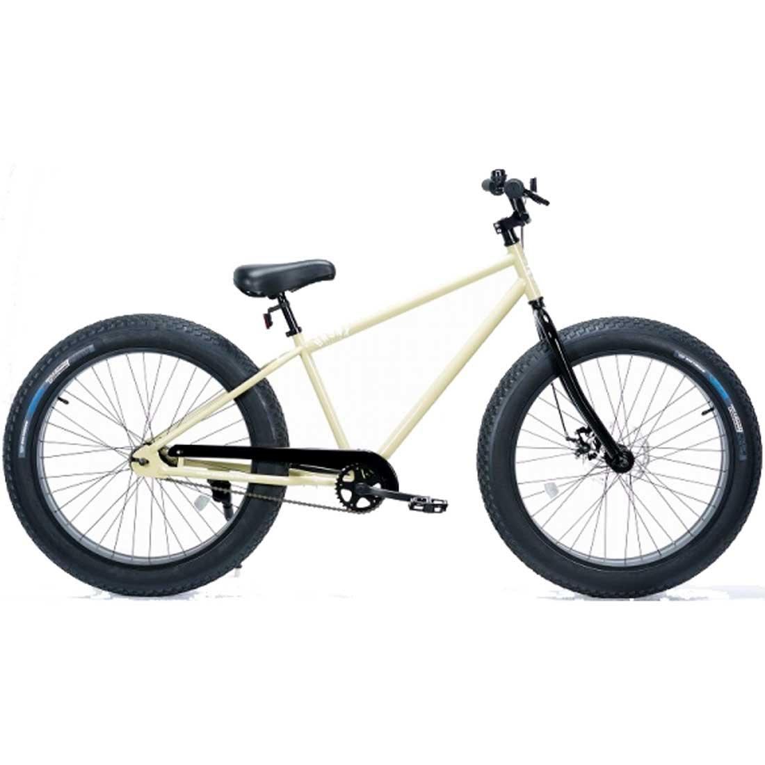 ファットバイク 26インチ 極太タイヤ おしゃれ 自転車 通勤 通学 ブロンクスファットバイク 26BRONX-4.0 サンドフォックス メンズ レディース
