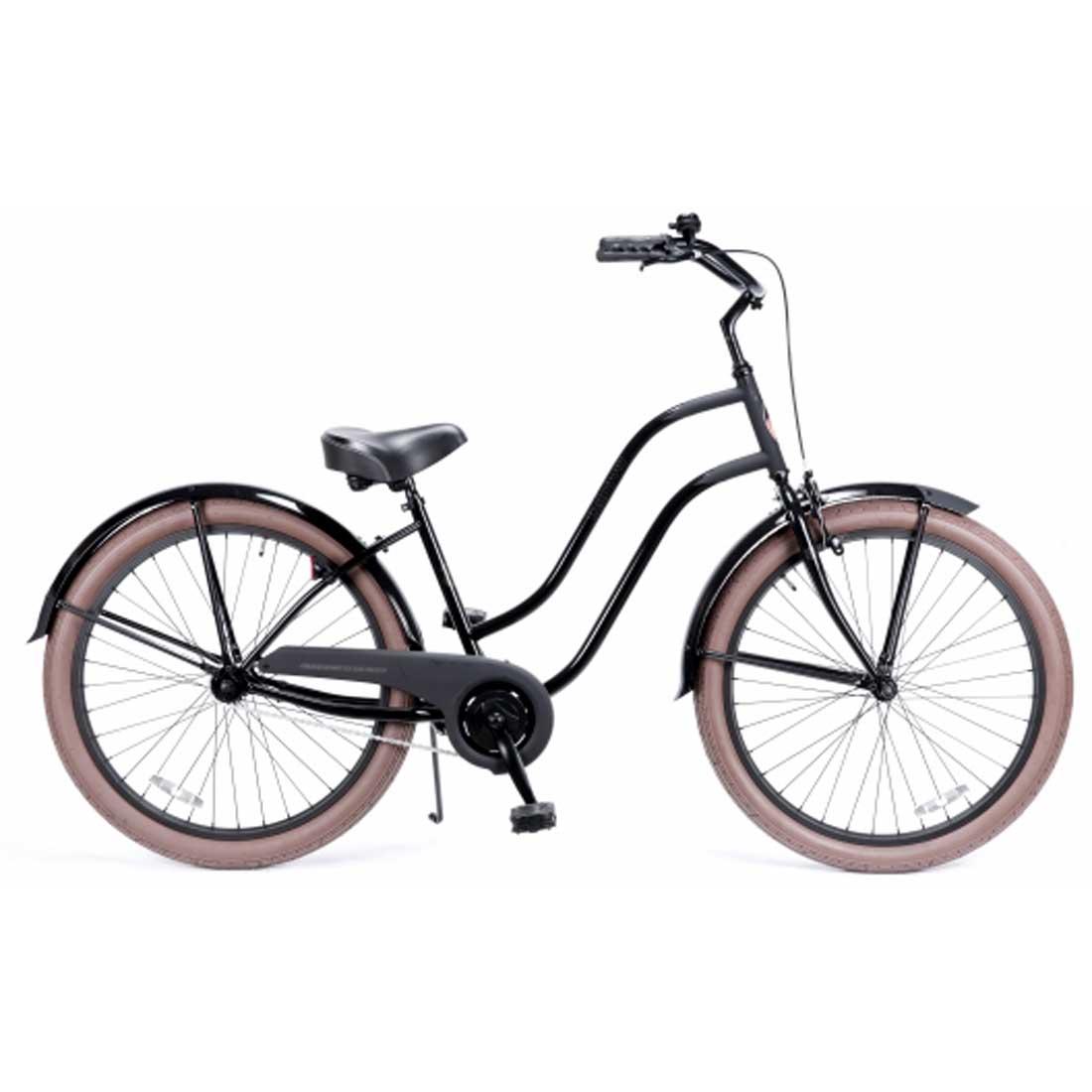 レインボー ビーチクルーザー 26インチ おしゃれ 自転車 通勤 通学 メンズ レディース 26lady-BC キャットウーマン2 レディース ジュニア