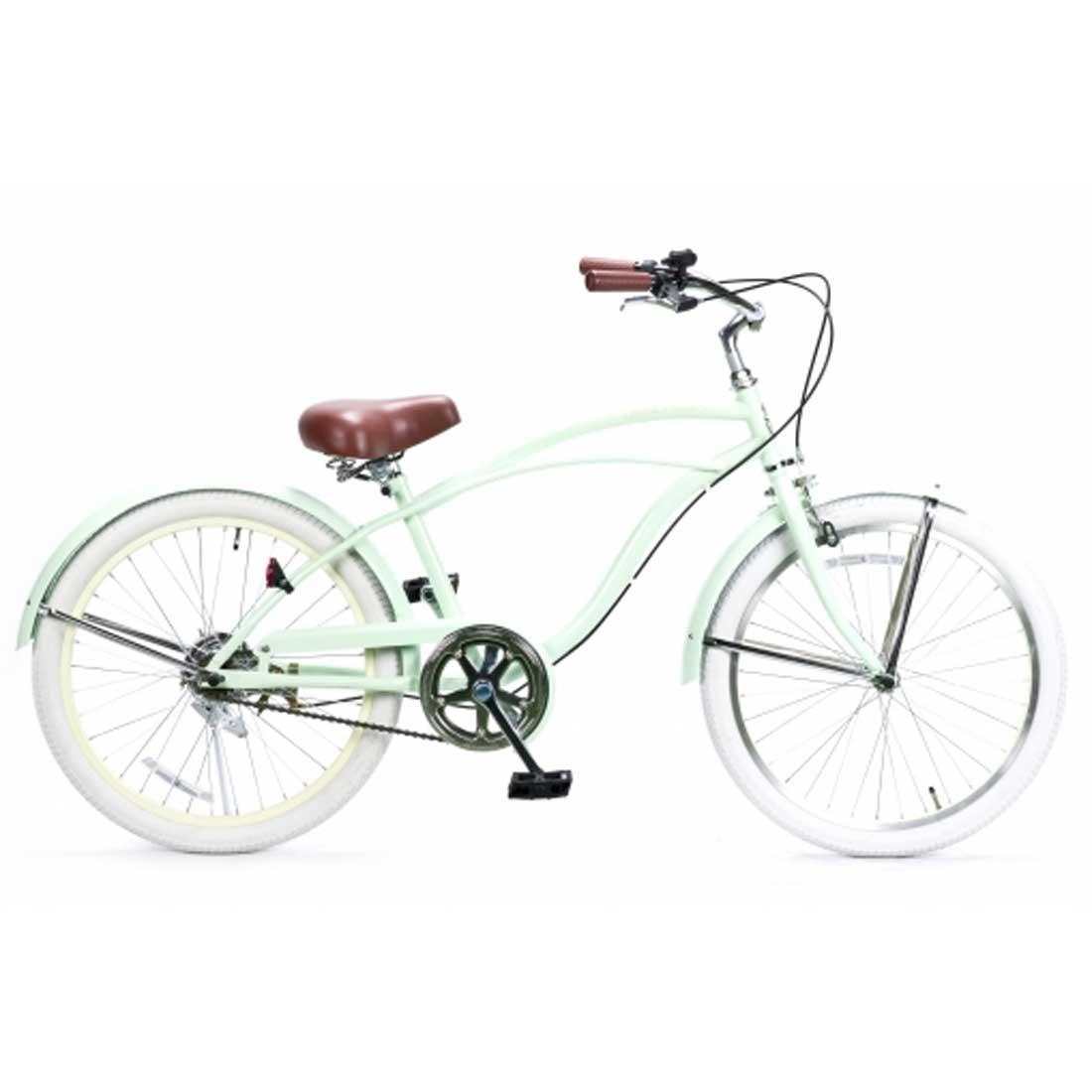 子供用自転車 22インチ ビーチクルーザー おしゃれ 自転車 ジュニア 小学生 レインボー Feelling of decks FOD-22