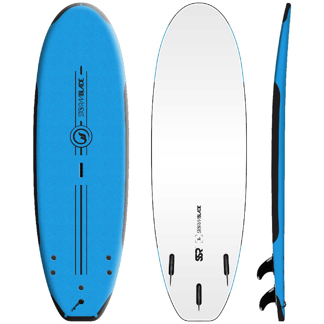 サーフボード ソフトボード STORM BLADE 7ft SSR SURFBOARDS