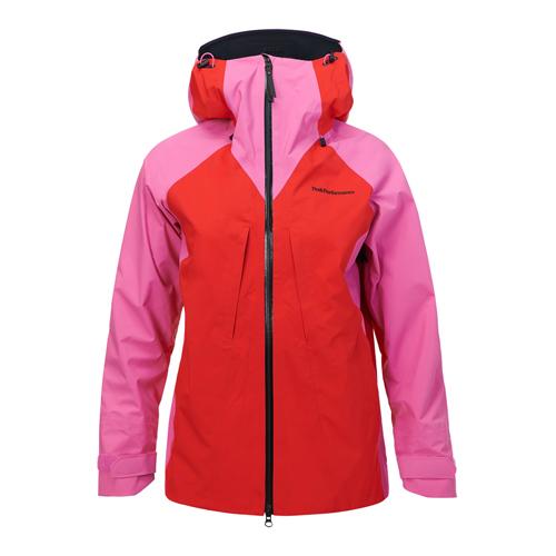 PEAK [レディス] PEAK PERFORMANCE【W Jacket Teton Jacket Vibrant Pink 2018-19】ピークパフォーマンス W ティトンジャケット [レディス], 越路町:344d731d --- sunward.msk.ru