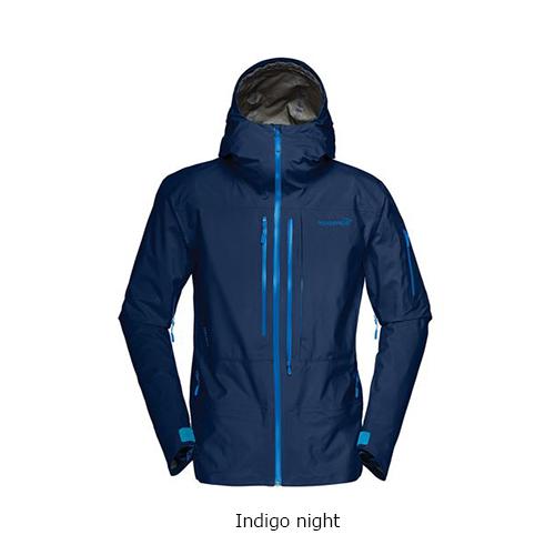 ノローナ ロフォテン ゴアテックスプロジャケットNORRONA【Lofoten Gore-Tex Pro Jacket】indigo night25%OFF