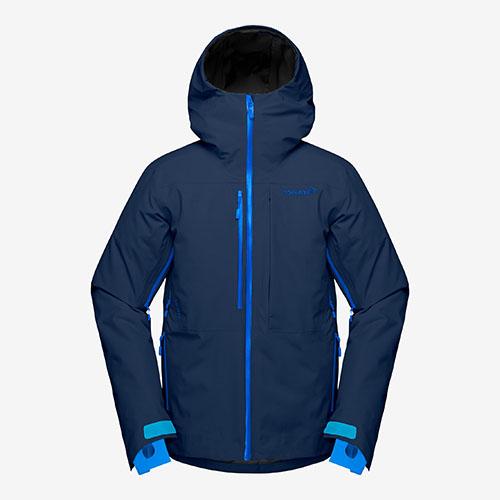 ノローナ ロフォテン ゴアテックスインサレーテッドジャケットNORRONA【Lofoten Gore-Tex insulated Jacket】indigo night